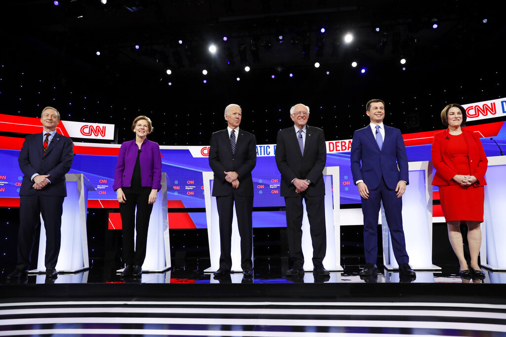 What are the Democratic presidential candidates' religions?