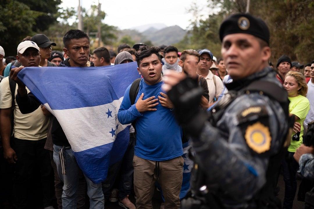 Mexico says it will block migrant caravan en route to US from Honduras