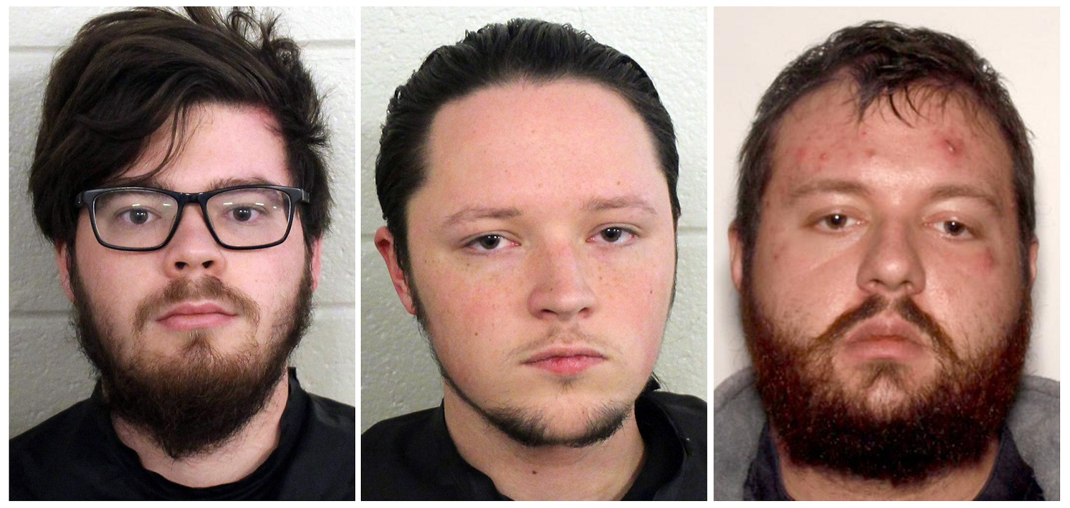 3 more men linked to white supremacist group arrested in Georgia