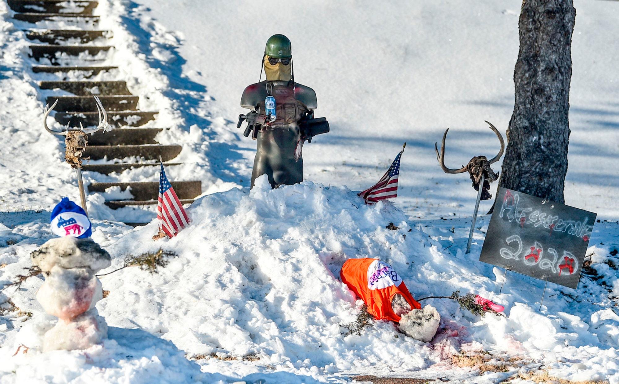 Iowa Schnee targeting im display-Netzwerk Demokraten einhellig verurteilt in der Stadt