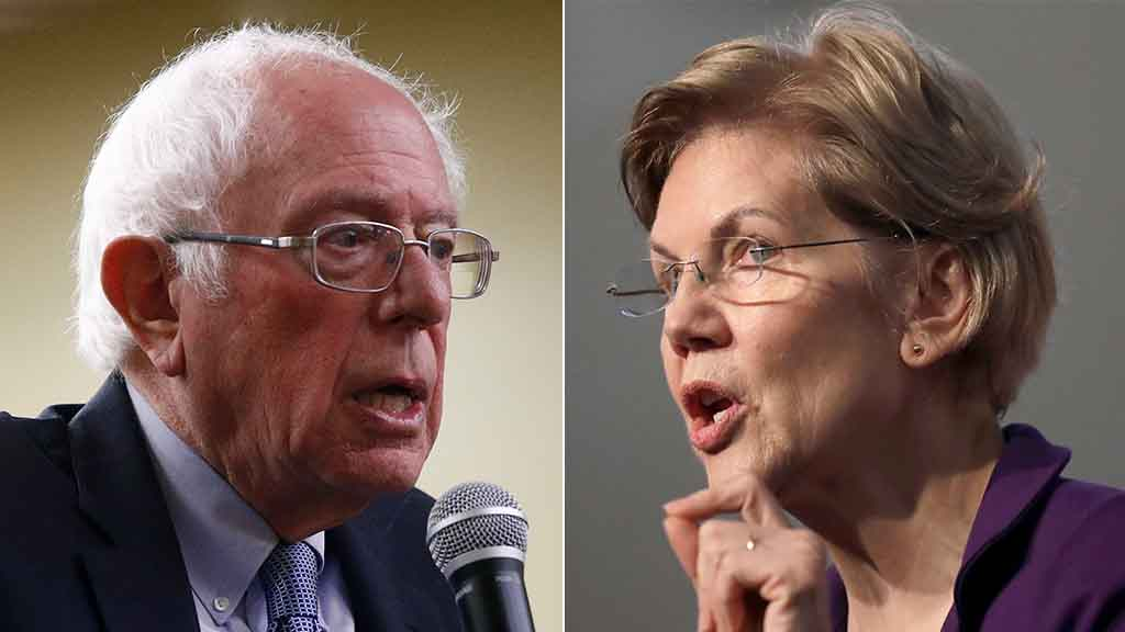 Westlake Legal Group Bernie-Sanders-Elizabeth-Warren-AP Video surfaces of Sanders saying 'a woman could be elected president,' contradicting CNN report Joseph Wulfsohn fox-news/tech/companies/twitter fox-news/politics/2020-presidential-election fox-news/person/elizabeth-warren fox-news/person/bernie-sanders fox-news/media fox news fnc/media fnc article 44d892d7-c502-57d4-a02b-05814d92f02d