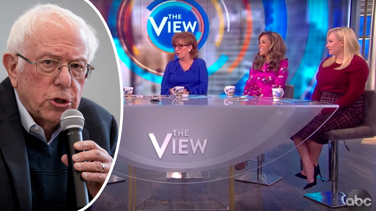 Westlake Legal Group Bernie-Sanders-View-AP-YOUTUBE2 Sanders campaign blasts the 'millionaires on The View' for 'smearing' his supporters as anti-women Joseph Wulfsohn fox-news/tech/companies/twitter fox-news/politics/2020-presidential-election fox-news/person/meghan-mccain fox-news/person/joy-behar fox-news/person/elizabeth-warren fox-news/person/bernie-sanders fox-news/media fox-news/entertainment/the-view fox news fnc/media fnc b8a9efed-44b7-5355-8aeb-cba8a732fc08 article