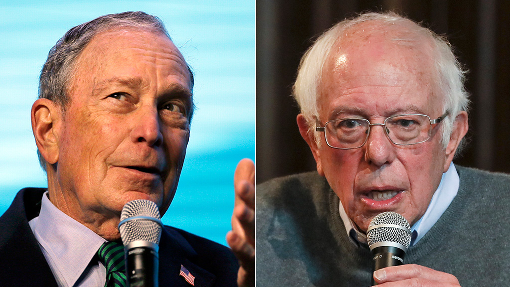 Westlake Legal Group Bloomberg-Sanders-AP Bernie Sanders tears into Michael Bloomberg, says Dem billionaire can't beat Trump fox-news/us/us-regions/west/nevada fox-news/politics/elections/presidential-primaries fox-news/politics/elections fox-news/politics/2020-presidential-election fox-news/person/michael-bloomberg fox-news/person/bernie-sanders fox news fnc/politics fnc Dom Calicchio article 5fa69c6f-889a-50c7-ac7d-3e508e4db21d
