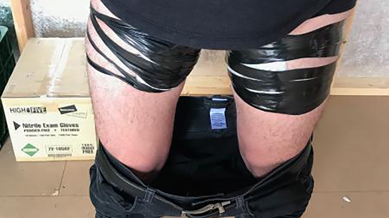 Arizona border agents find fentanyl taped to man's thighs during immigration check