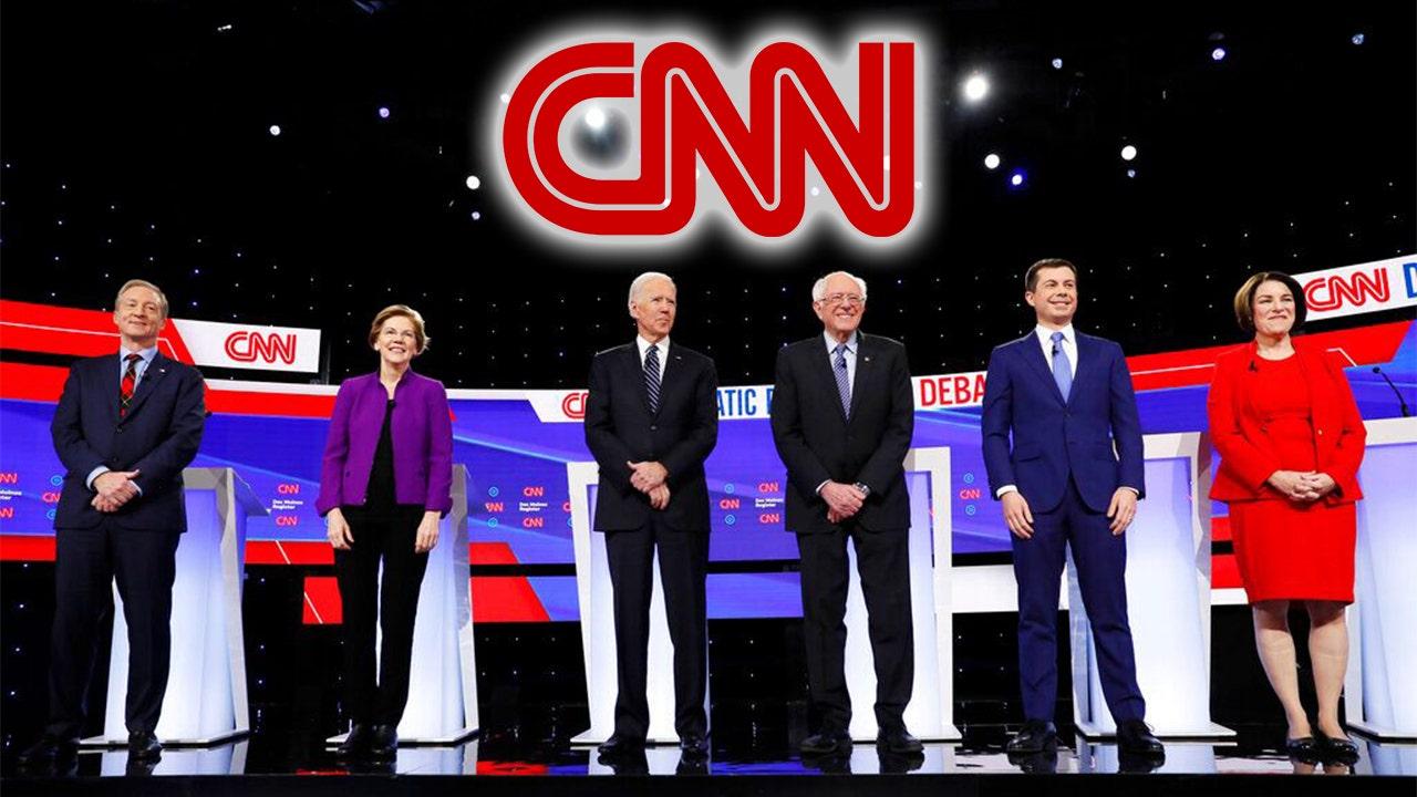 CNN gestrahlt für 'siding' mit Warren nach Sanders verweigert Ladung Sexismus