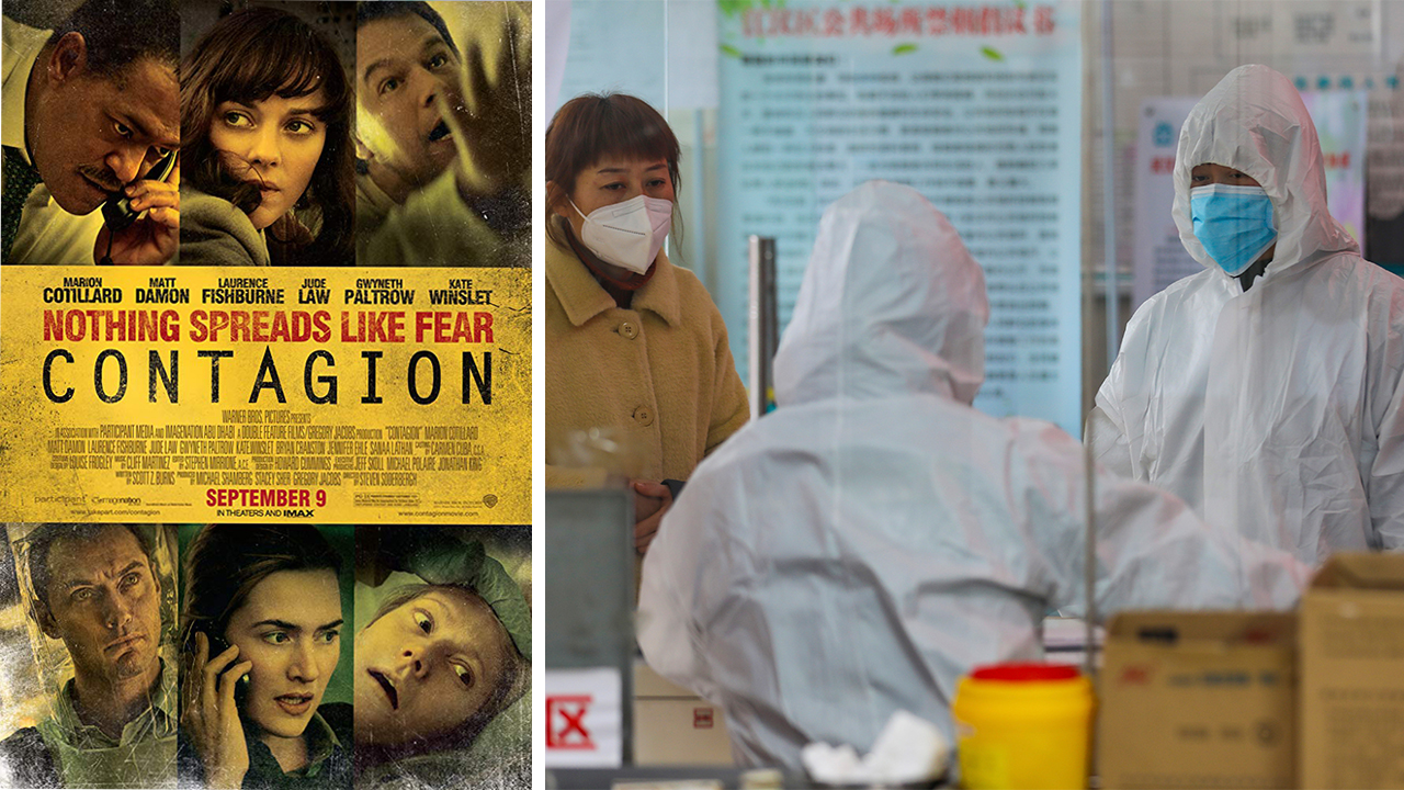 'Contagion' climbs iTunes movie charts as coronavirus outbreak spreads
