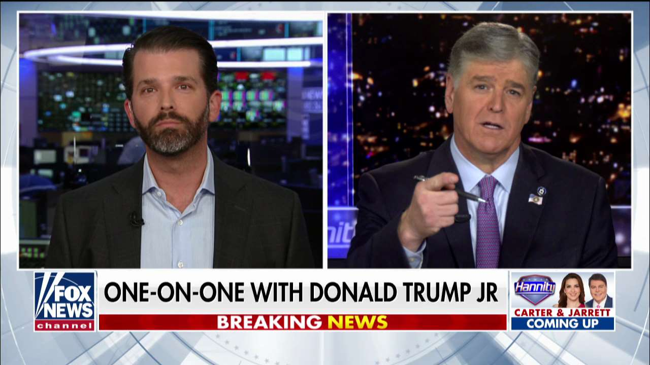 Westlake Legal Group ENC3_132236150898610000 Donald Trump Jr. defends China agreement from Schumer criticism: 'He knows nothing about trade' fox-news/shows/hannity fox-news/person/nancy-pelosi fox-news/person/donald-trump fox-news/person/chuck-schumer fox-news/media/fox-news-flash fox-news/media fox news fnc/media fnc Charles Creitz article 0006a572-6ff5-5170-abc0-7ed76d2e72ee