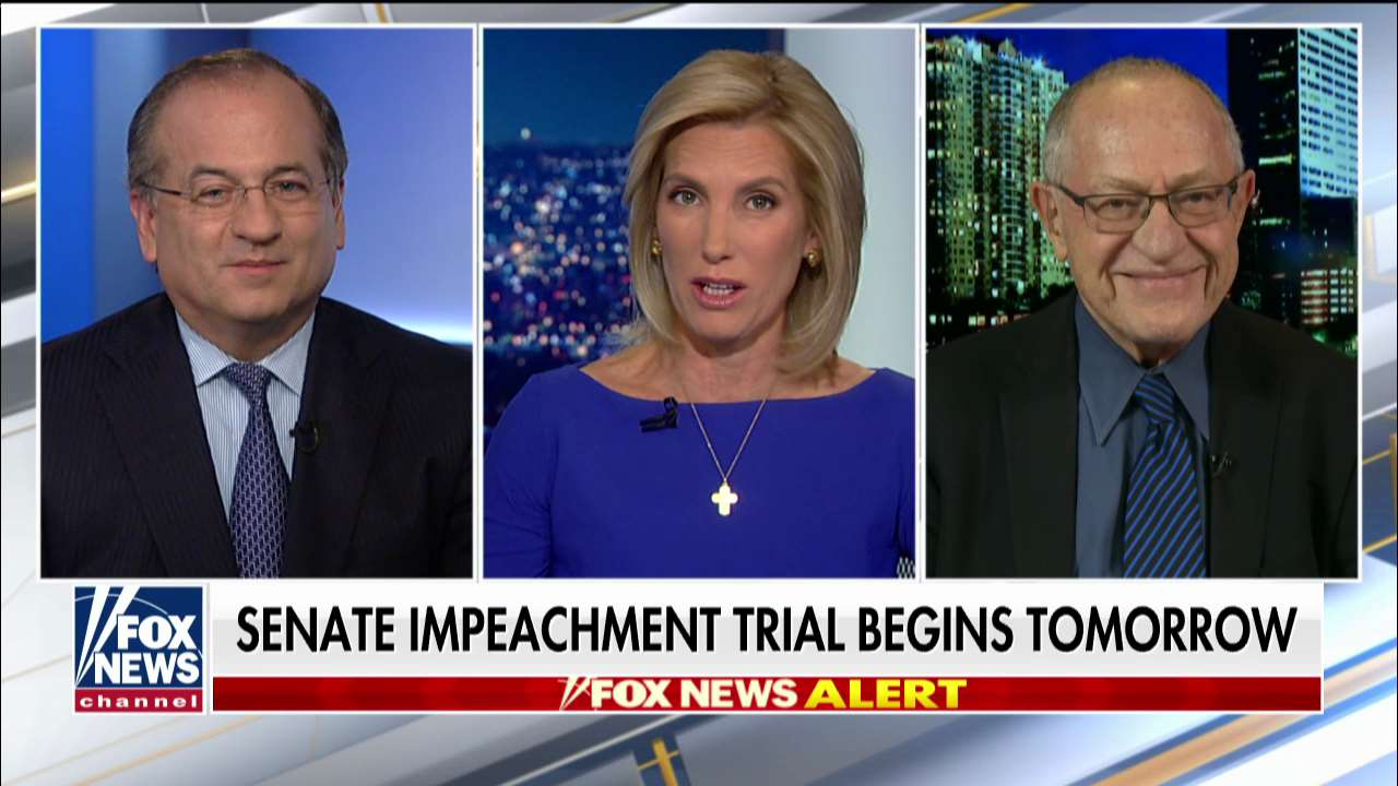 Westlake Legal Group ENC3_132240498098130000 Alan Dershowitz: Trump impeachment is a 'motion-to-dismiss' case, save for 'political' considerations fox-news/shows/ingraham-angle fox-news/politics/trump-impeachment-inquiry fox-news/politics/executive/law fox-news/politics/elections/senate fox-news/person/donald-trump fox-news/media/fox-news-flash fox-news/media fox news fnc/media fnc Charles Creitz article 8822f22f-6408-5023-9828-b76ed07f9692