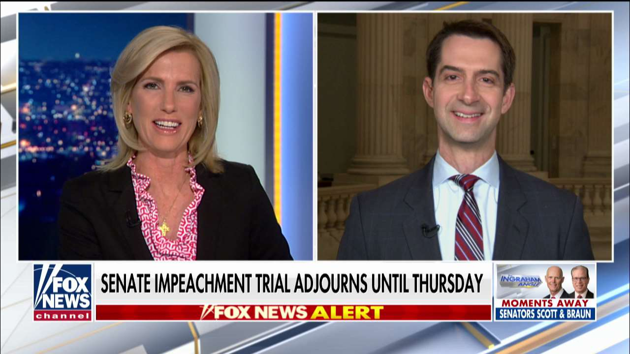 Westlake Legal Group ENC3_132242229575550000 Tom Cotton: If I added vodka to my milk on the Senate floor, Schiff would've accused me of collusion fox-news/world/world-regions/russia fox-news/us/us-regions/midwest/arkansas fox-news/politics/trump-impeachment-inquiry fox-news/politics/senate/republicans fox-news/politics/senate fox-news/person/adam-schiff fox-news/news-events/russia-investigation fox-news/media/fox-news-flash fox-news/media fox news fnc/media fnc Charles Creitz c615cecb-d5bc-5be9-ba44-880bdfcf3b73 article