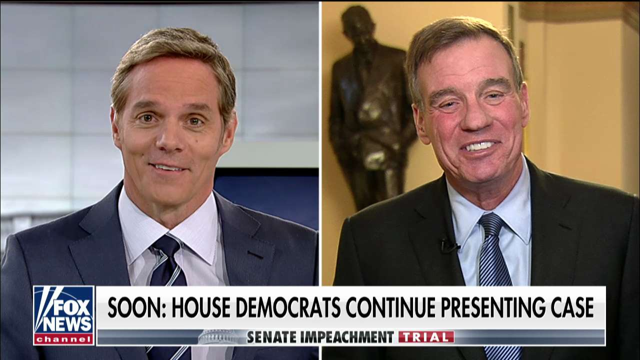 Mark Warner: Will Trump legal team push back on House case or claim conduct was not impeachable?
