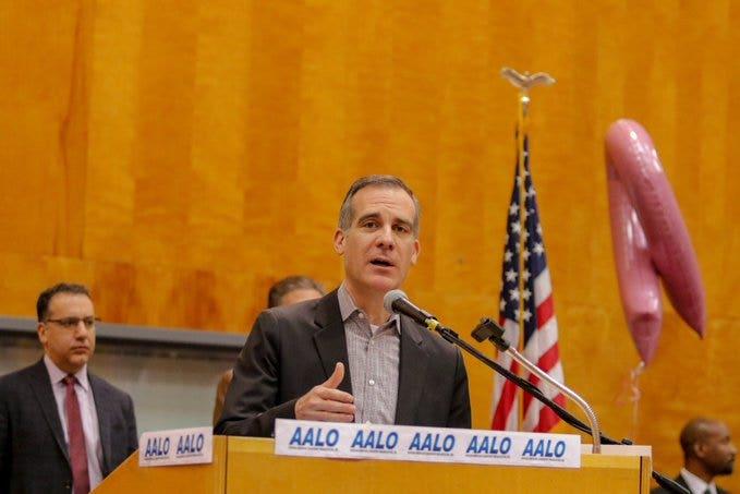 Los Angeles' Garcetti to meet with HUD Secretary Carson to talk homelessness: report