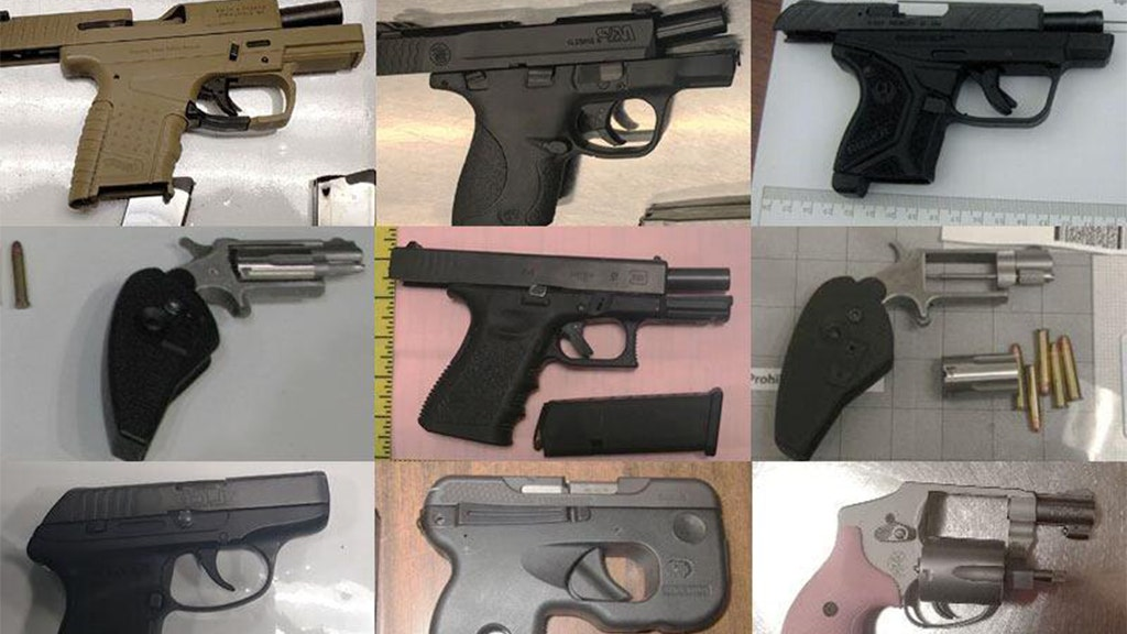 TSA found nearly a dozen guns a day at US airport checkpoints in 2019