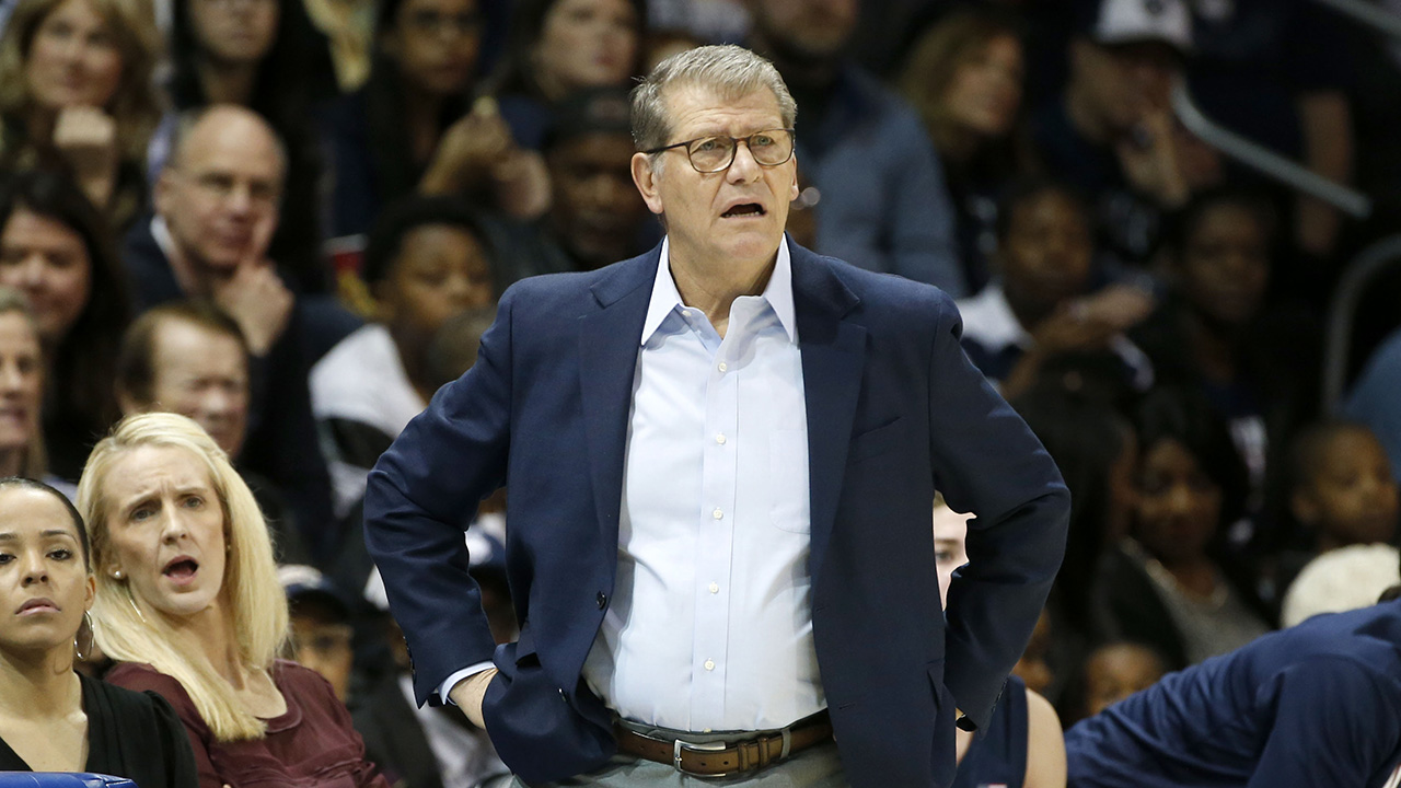 Westlake Legal Group Geno-Auriemma3 UConn women still No. 1; S Dakota, Michigan, Princeton in fox-news/sports/ncaa/stanford-cardinal fox-news/sports/ncaa/oregon-ducks fox-news/sports/ncaa/connecticut-huskies fox-news/sports/ncaa/baylor-bears fox-news/sports/ncaa-bk fox-news/sports/ncaa fnc/sports fnc Associated Press article 31bbb8bd-3cc7-51be-8b87-b96ffa89da20