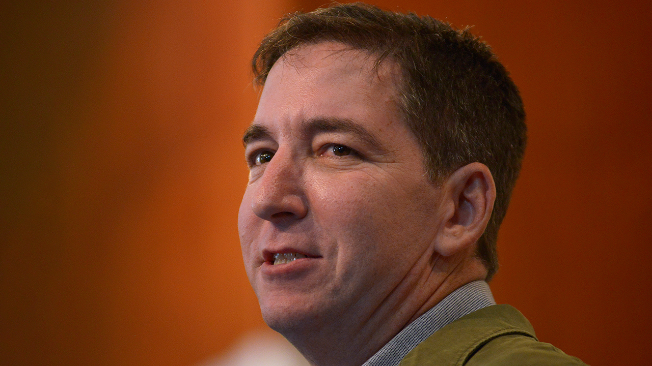 Glenn Greenwald RT.'