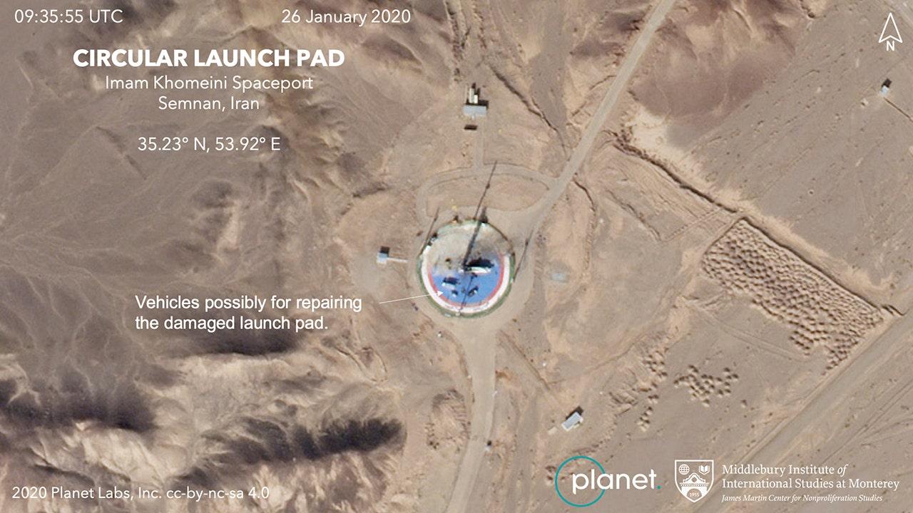 イラン、画像から作成のための衛星の打ち上げがとに批判し、過去の失敗