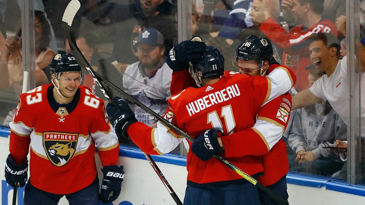 Huberdeauッチポイントマークパンサー以上Leafs