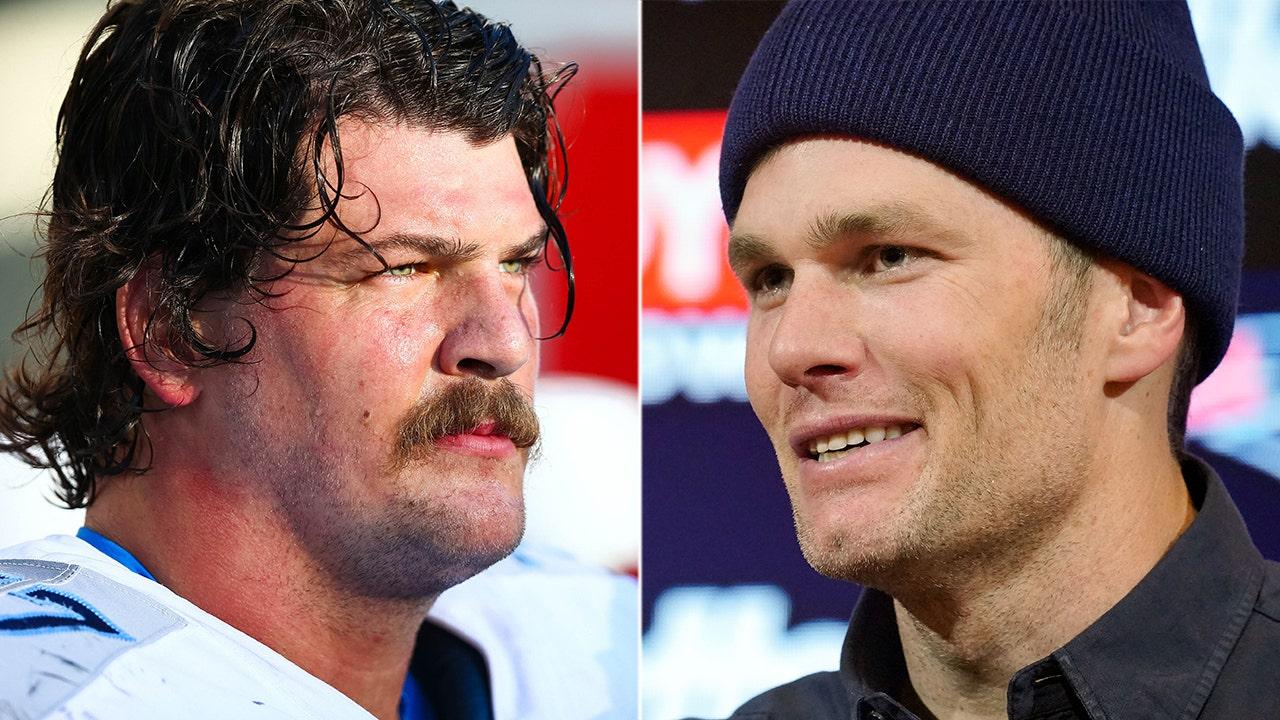 Tennessee Titans' Taylor Lewan trolls Tom Brady after playoff win: 'You wanted hyenas you got f-----g hyenas'