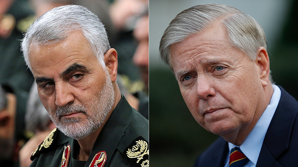 Lindsey Graham: Qassem Soleimani is dead because he 'miscalculated' President Trump