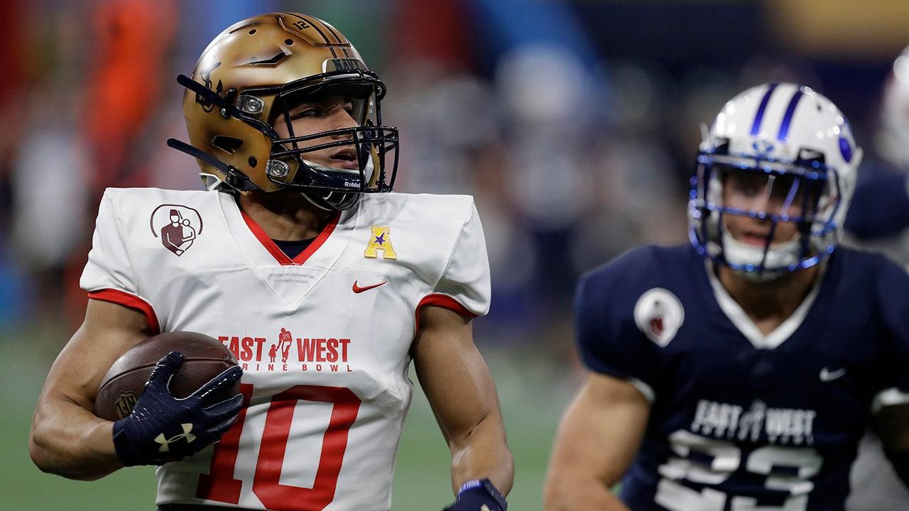 LeMay 2 TDs Vorsprung Osten über West-31-27 im Schrein Bowl