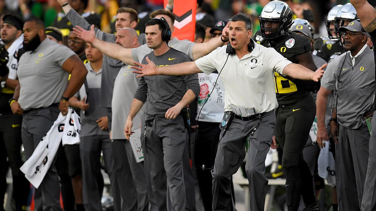 Cristobal ' s new-look Oregon sieht zu bauen, auf der Rose Bowl zu gewinnen
