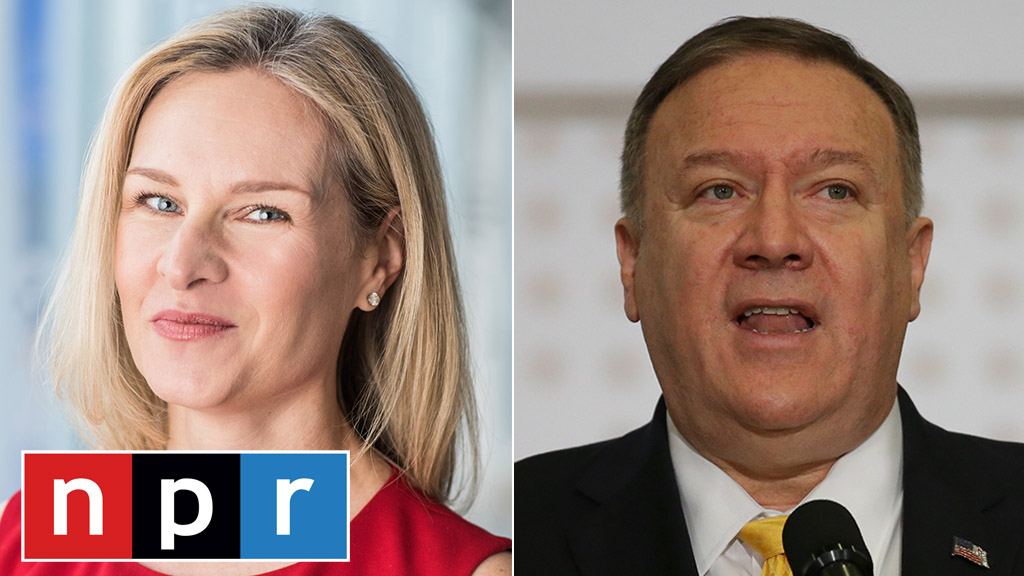 Westlake Legal Group Mary-Louise-Kelly-Pompeo-NPR-AP Pompeo blasts 'shameful' NPR reporter, claims she broke agreement reached before interview fox-news/world/conflicts/ukraine fox-news/politics/foreign-policy/secretary-of-state fox-news/media fox news fnc/politics fnc Brie Stimson article 33c27828-0eab-5048-a4af-3c23d839ddd4