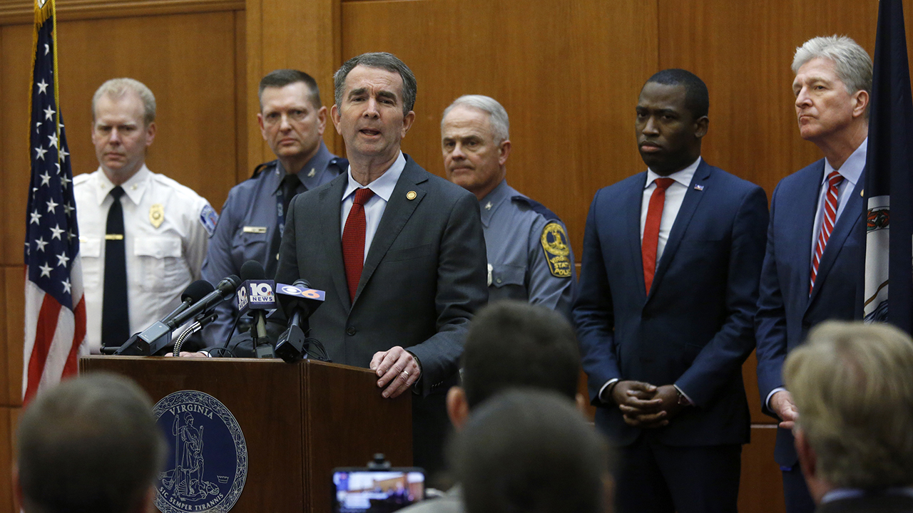 Westlake Legal Group Northam Northam's Virginia Capitol weapons ban upheld by judge ahead of pro-gun rally Vandana Rambaran fox-news/us/us-regions/southeast/virginia fox-news/politics fox news fnc/politics fnc article 72d03086-f167-5b41-b013-ef921f6d3f35