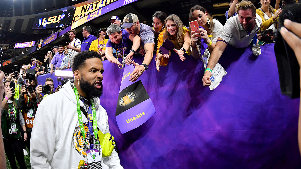 LSU Joe Bau: Odell Beckham Jr übergabe out real cash Teamkollegen