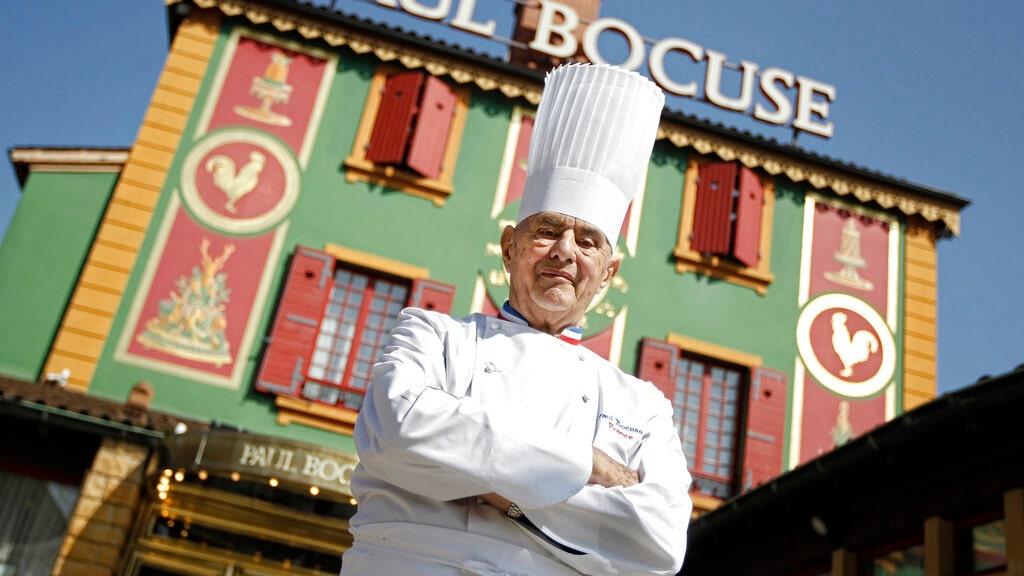 Der berühmte Koch Paul Bocuse restaurant herabgestuft 2 Michelin-Sterne nach 55 Jahren