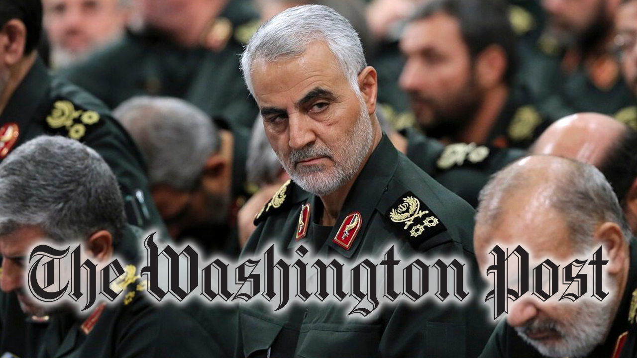 Washington Post που ανατινάζεται για την παραπομπή Qassim Soleimani, όπως το Ιράν