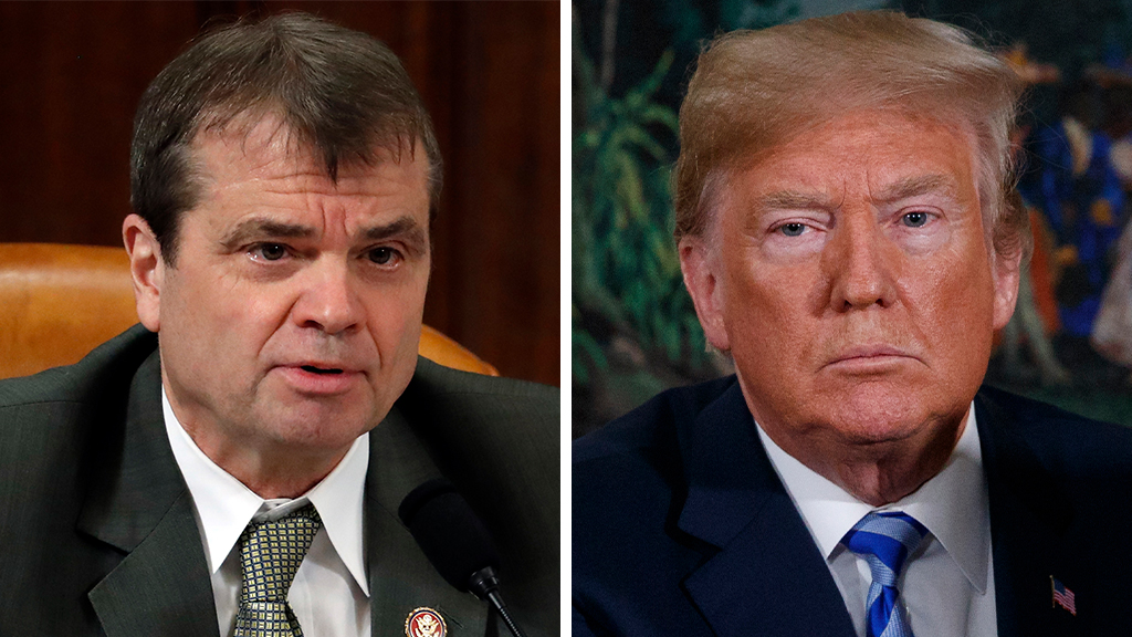 Westlake Legal Group Quigley-Trump_Getty-AP House Intel Committee Democrat says panel will revisit Russia investigation after impeachment Sam Dorman fox-news/politics/trump-impeachment-inquiry fox-news/politics/house-of-representatives/democrats fox-news/news-events/russia-investigation fox news fnc/media fnc c18ee64b-77fe-5033-bc19-45e086090b6d article