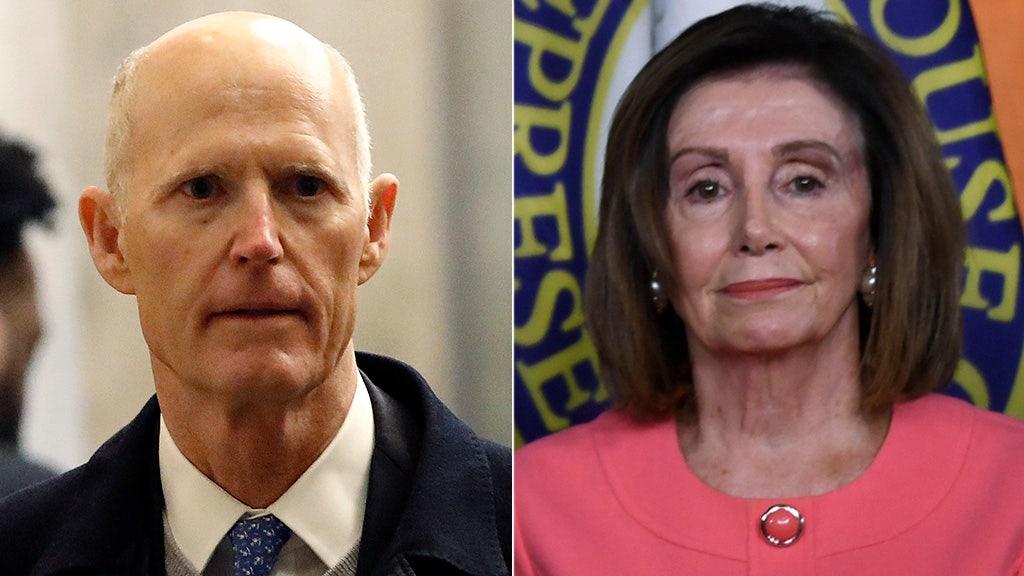 リックスコット容疑者Pelosi'を助けようとしてジョー Biden,'を傷つけ、その後のDemに相手impeachment
