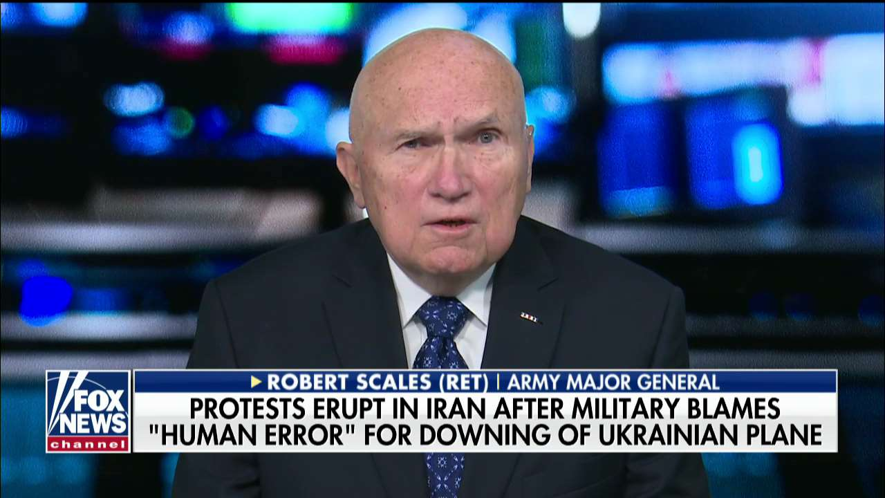 Westlake Legal Group Scales- US military's Iran policy 'not going to change overnight,' Gen. Robert Scales says Talia Kaplan fox-news/world/world-regions/middle-east fox-news/world/world-regions/iraq fox-news/world/conflicts/iran fox-news/topic/fox-news-flash fox-news/shows/americas-news-hq-weekend fox-news/politics/foreign-policy/middle-east fox-news/politics/defense/pentagon fox news fnc/media fnc d792fe59-f7ef-5bd0-973c-7896c9bc2566 article