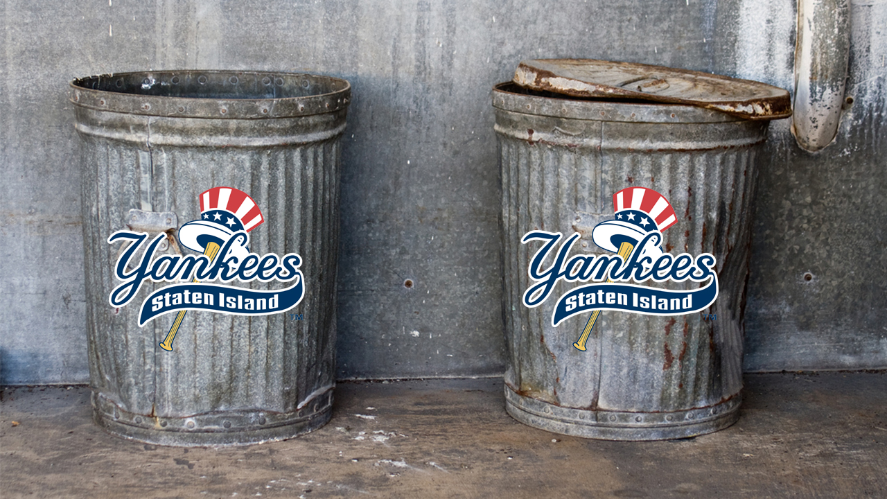 Astros trolled by Staten Island Yankees with trash can giveaway