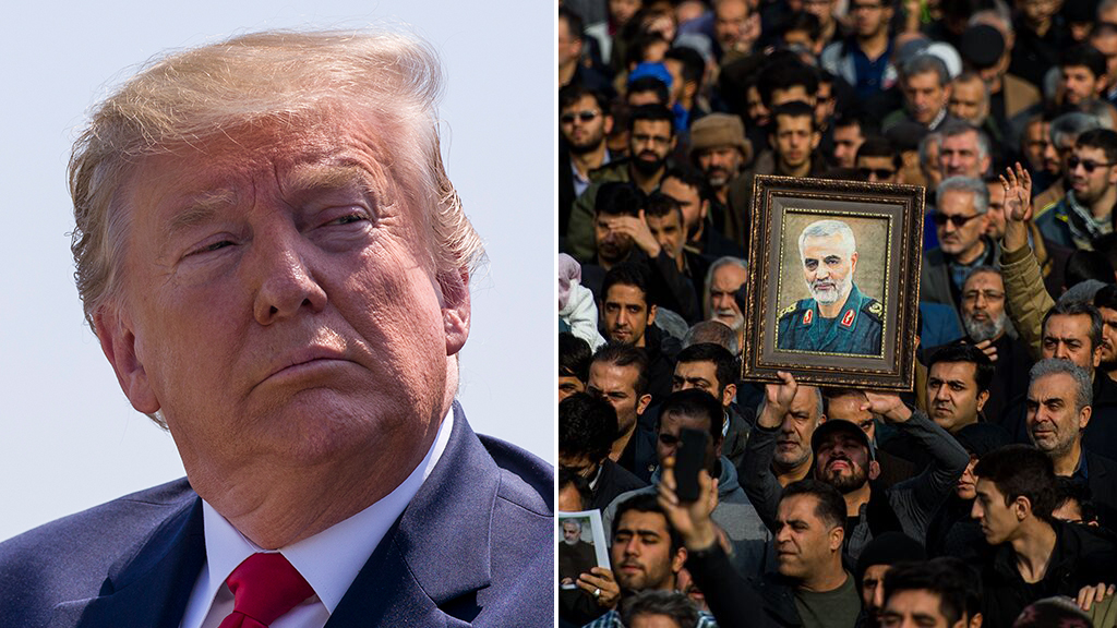 Westlake Legal Group Trump-Soleimani-AP-Getty Iraq's Parliament calls for expulsion of US troops from the country following drone attack Stephen Sorace fox-news/world/world-regions/iraq fox news fnc/world fnc article 456e7b30-1452-57f3-b94b-ea068f24e91f
