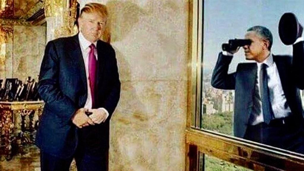 Westlake Legal Group Trump-TWEET Trump shares satirical image of Obama spying on him at Trump Tower amid FISA abuse developments Joseph Wulfsohn fox-news/topic/durham-probe fox-news/tech/companies/twitter fox-news/person/donald-trump fox-news/person/barack-obama fox-news/media fox news fnc/media fnc d36133b1-0110-53fd-8e98-5659a6b760e8 article