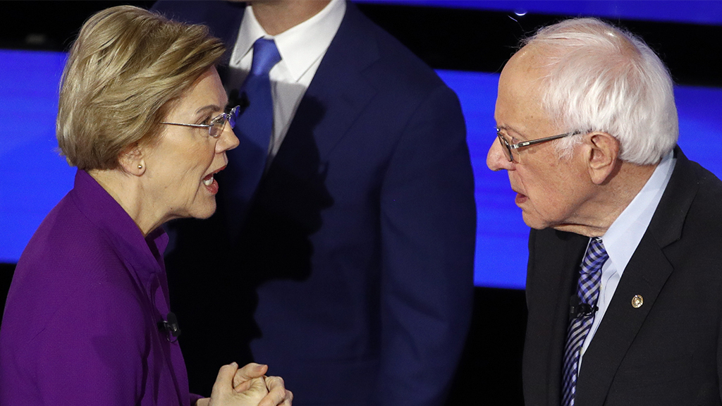 Westlake Legal Group Warren-Sanders-post-debate Liz Peek: Americans will never allow Bernie and Liz to stomp on our freedoms Liz Peek fox-news/us/personal-freedoms fox-news/politics/2020-presidential-election fox-news/person/elizabeth-warren fox-news/person/bernie-sanders fox-news/opinion fox news fnc/opinion fnc article 053276ae-9c8e-559d-a02c-5228e96cbd69