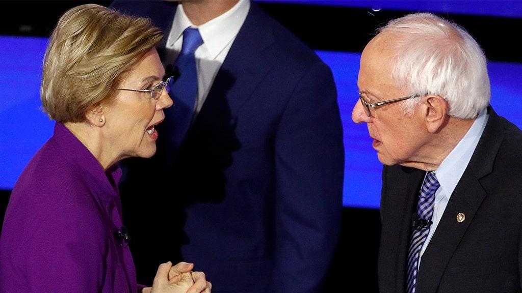Audio released of testy post-debate exchange between Warren, Sanders: 'I think you called me a liar on national TV'