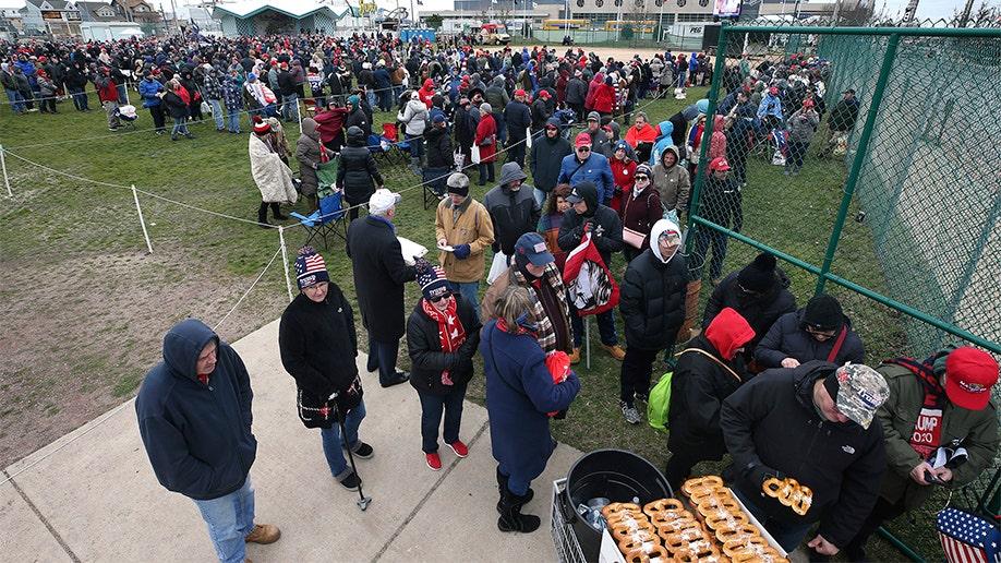 Trump-Rallye auf Jersey Shore: Finden Sie die Menschenmassen