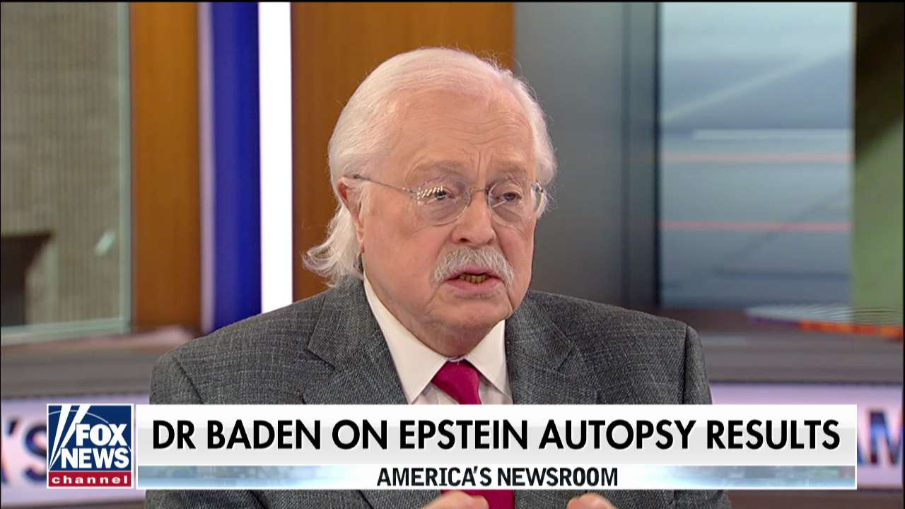 Dr. Baden says Jeffrey Epstein autopsy 'more indicative of homicide' after graphic photos surface