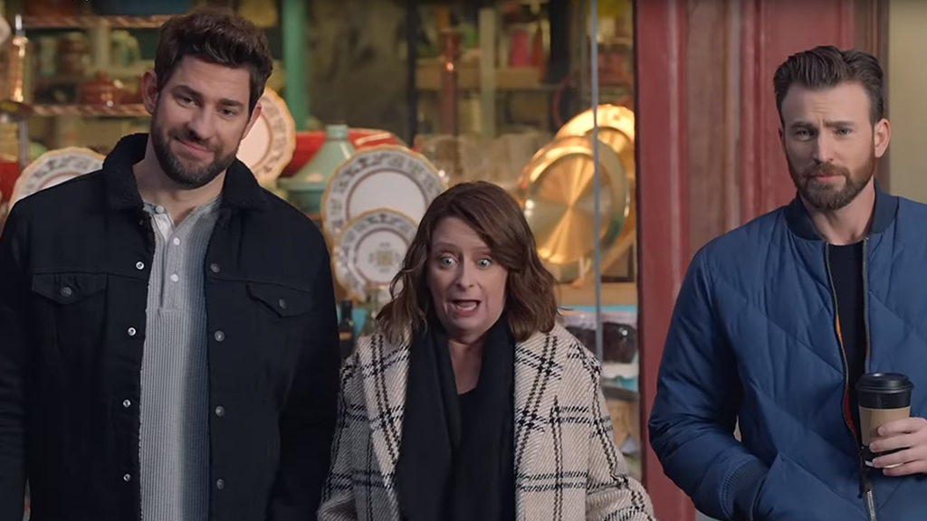 Chris Evans, John Krasinski and more stars appear in hilarious big game commercial
