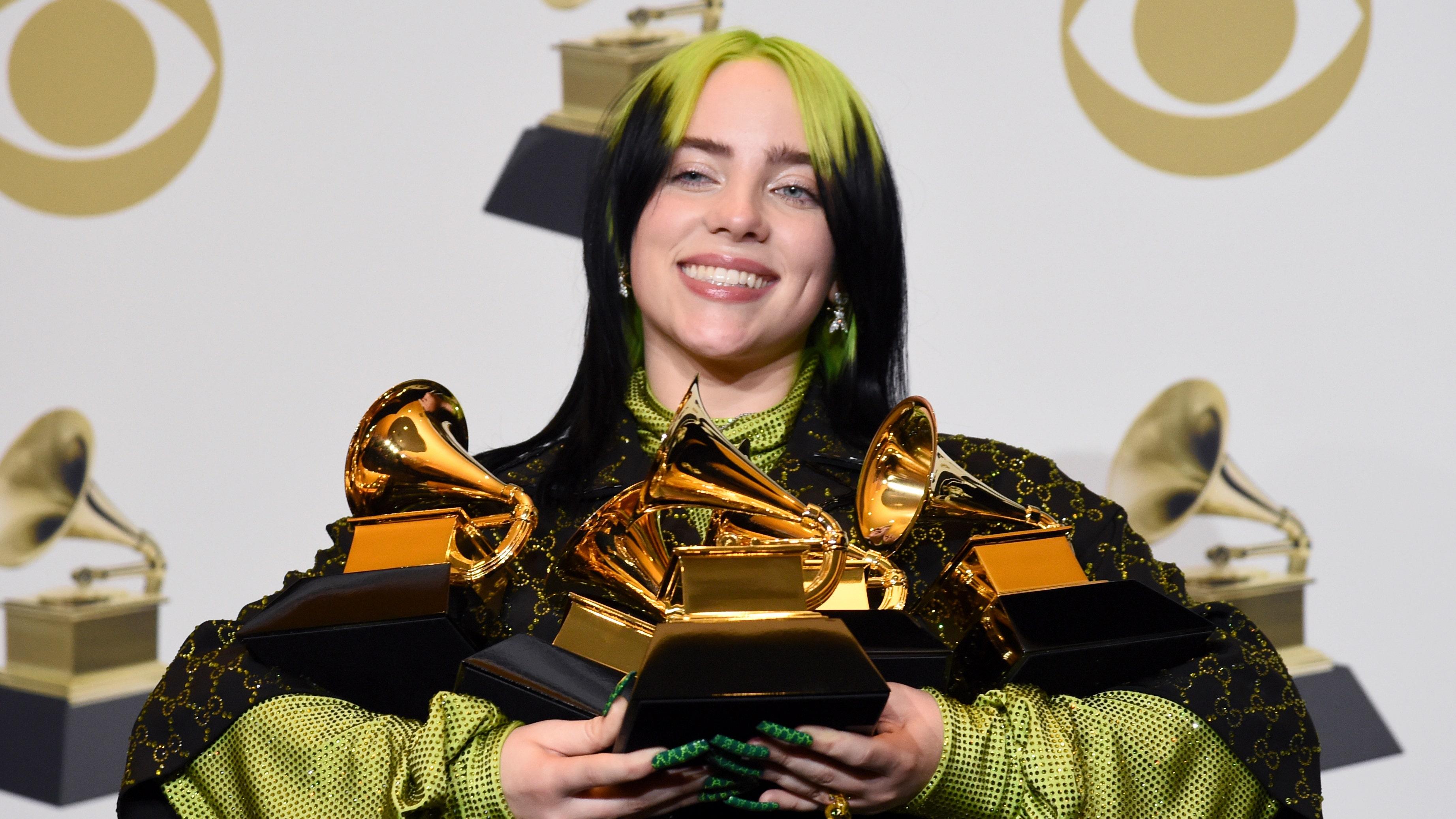 Grammy Awards: Billie Eilish makes history