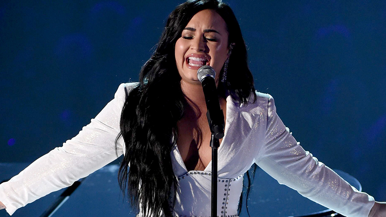 Grammys: Demi Lovato returns to the stage for the first time since ...