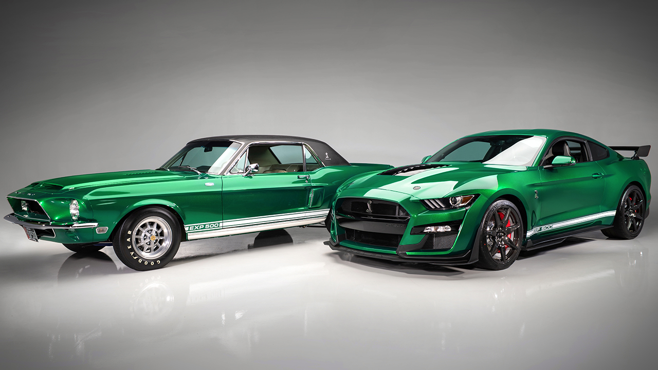$1.1 million 2020 Ford Mustang Shelby GT500 is very green machine
