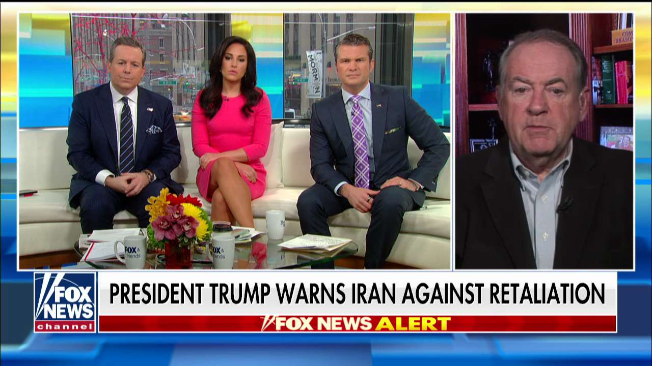 Gov. Huckabee reacts to Dems slamming Trump for threats against Iran: 'Why can't the left appreciate what t...