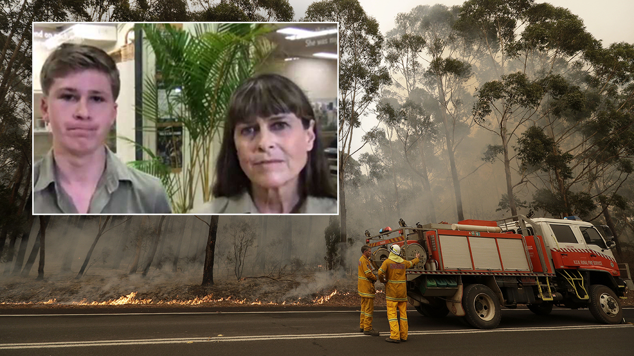 Westlake Legal Group irwins-wildfires-ap Irwin family treating hundreds of animals amid Australia wildfires: 'Everything' is being injured Talia Kaplan fox-news/us/disasters/fires fox-news/travel/regions/australia fox-news/topic/fox-news-flash fox news fnc/world fnc article 5bb8a29b-8393-5627-b4a8-ae387c1c6697