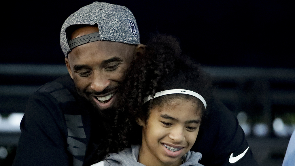 Kobe Bryant and his daughter attended church before...