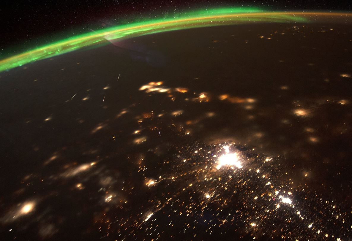 First meteor shower of 2020 seen in stunning NASA image from space