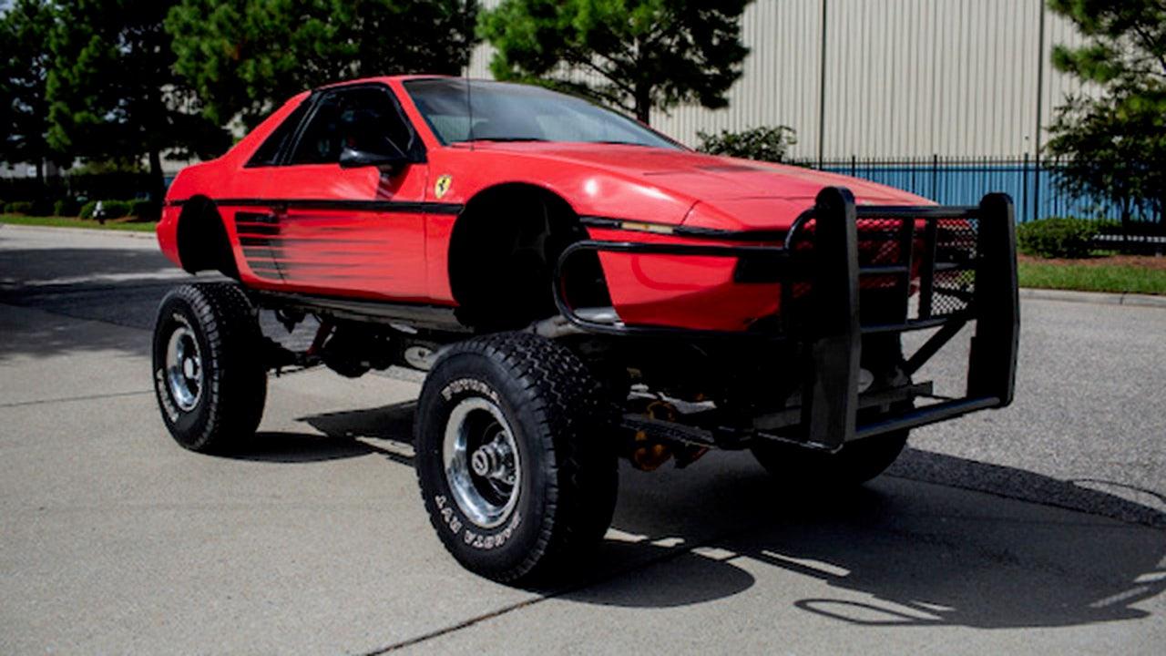 Dieser Pontiac Fiero-Chevy Blazer mashup ist die bizarre SUV, sehen Sie heute