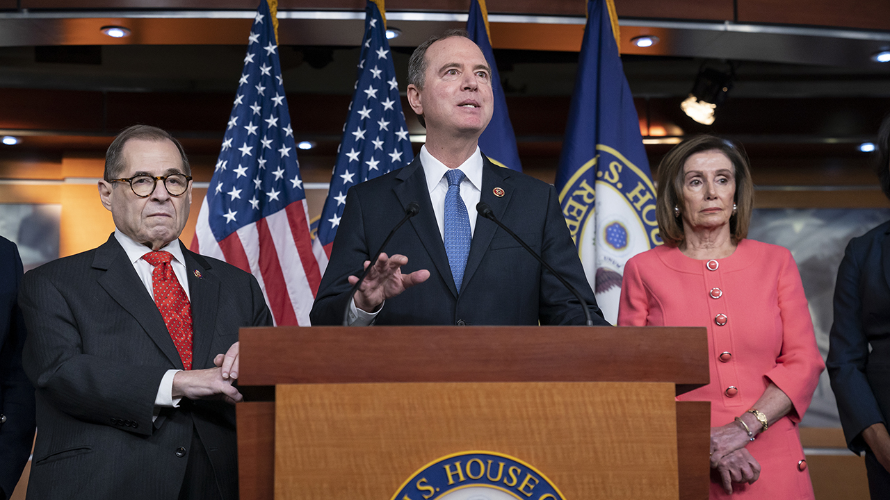 Westlake Legal Group nadler-schiff-pelosi 21 state AGs write letter condemning impeachment: House Dems turned Senate into 'kangaroo court' Talia Kaplan fox-news/shows/fox-friends fox-news/politics/trump-impeachment-inquiry fox-news/politics fox-news/media/fox-news-flash fox news fnc/media fnc article 24d5bd38-9c18-59e1-9b3c-1b74c8091730