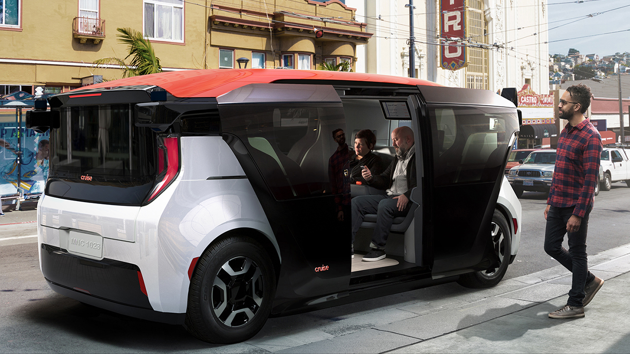 GMの自律的な自動車会社、クルーズ、発表原点自動運転シャトル